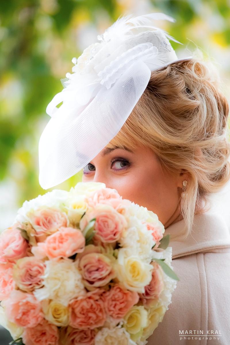 Svatební fotograf v Praze - nevěsta
