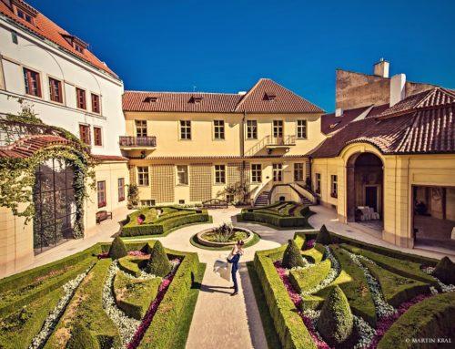 Svatby ve Vrtbovské zahradě | Vrtbovská zahrada Praha