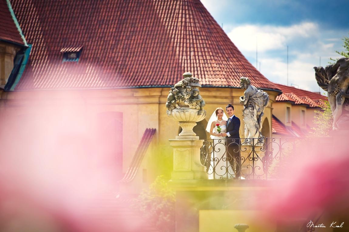 Vrtbovská zahrada Praha | Svatby