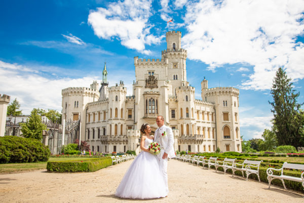 Svatebni Fotograf | Svatba na zámku Hluboká nad Vltavou