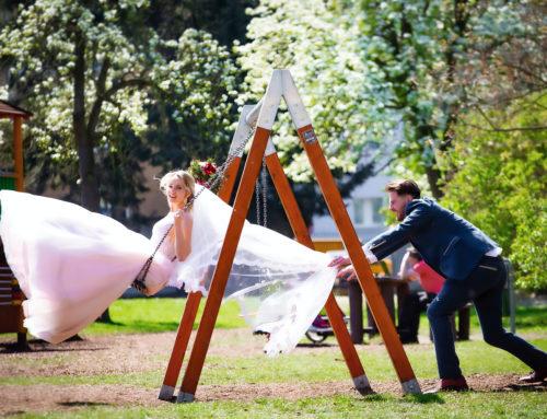 Svatba Jany a Arrona na zámku Brandýs nad Labem