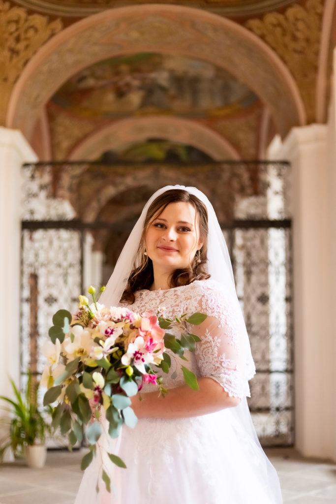 Svatebni fotograf v Praze - nevěsta